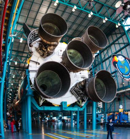 O gigante Saturn V