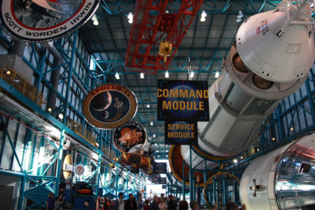 O museu Saturn V