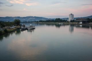 Schönbrunn e o Rio Danúbio