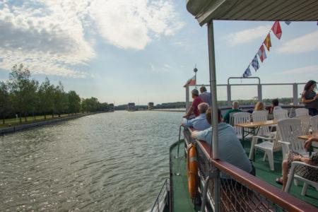Navegando pelo Rio Danúbio