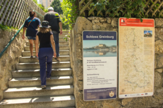 Entrada do castelo Greinburg